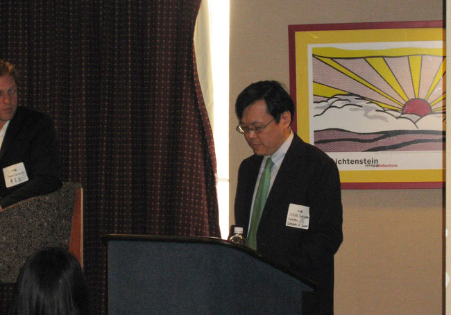 Opening remarks from Akira Sugiyama, Director of the Japan Information Center of the Consulate-General of Japan in New York