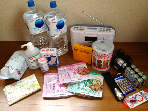 【RocketNews24】How to survive an earthquake (or zombie outbreak)- Expert advice and items to prepare