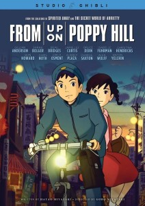 """Studio Ghibli are known for their fantastical animation and surrealistic landscapes. However, Poppy Hill lacks one other crucial element common to Ghibili films: an emotional depth of feeling."" (GKIDS)"