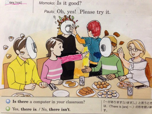 【RocketNews24】Possibly the greatest textbook doodles of all time1