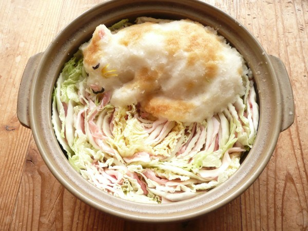 Grated radish art from Japan brings the cute to your favourite dishes1