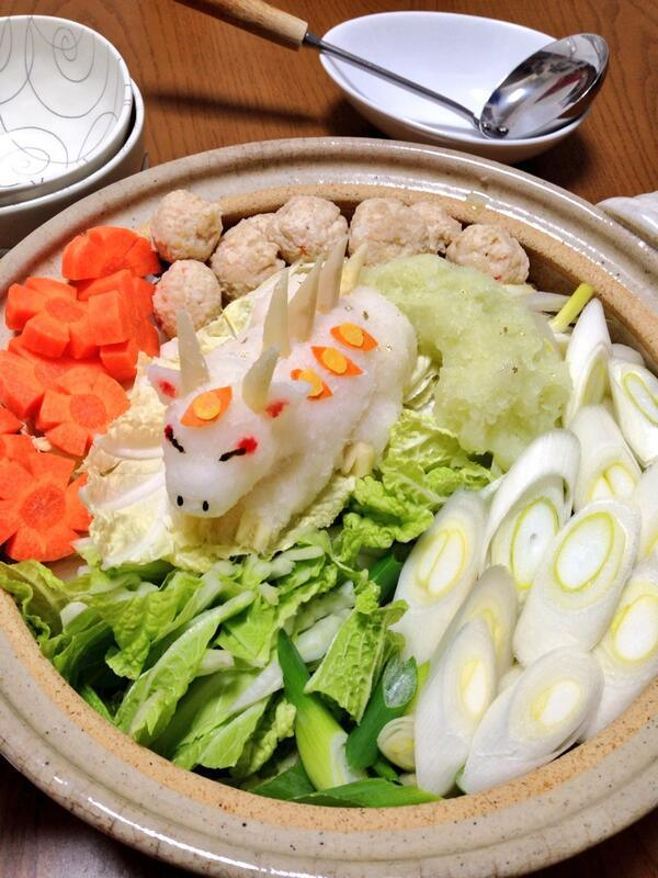 Grated radish art from Japan brings the cute to your favourite dishes15
