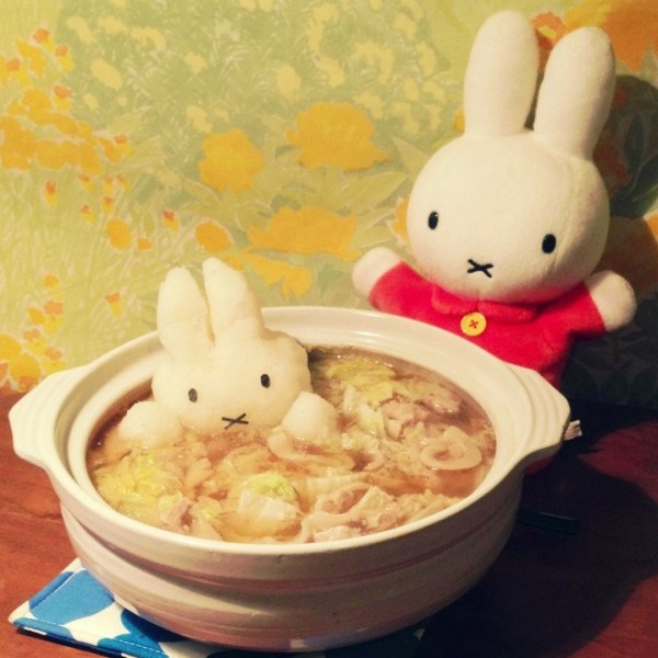 Grated radish art from Japan brings the cute to your favourite dishes16