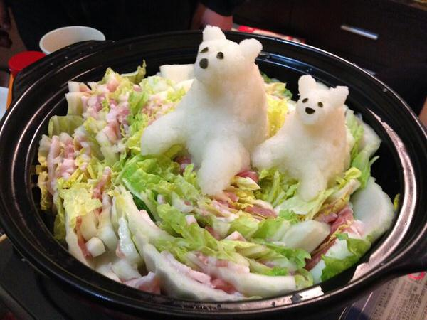 Grated radish art from Japan brings the cute to your favourite dishes2
