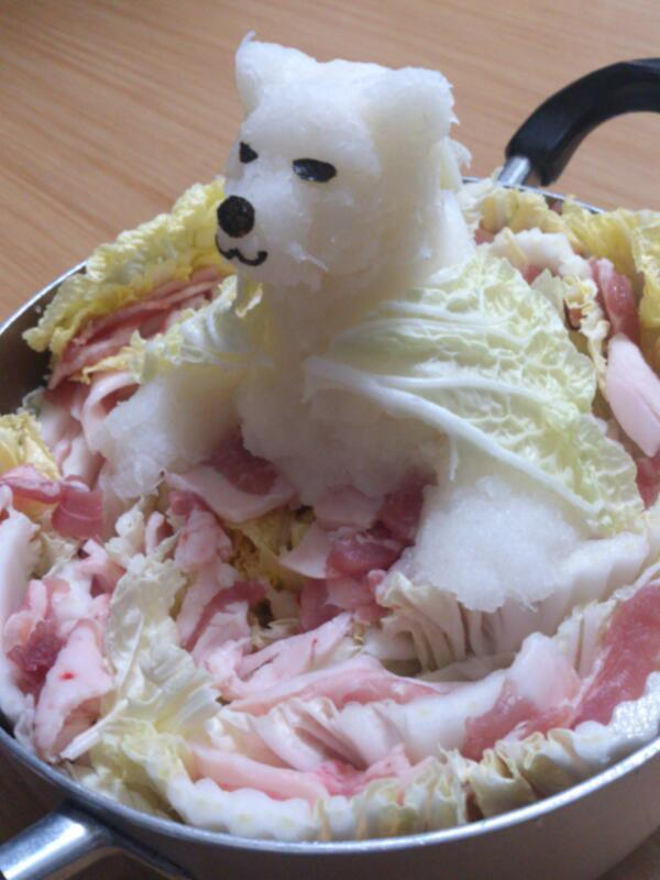 Grated radish art from Japan brings the cute to your favourite dishes3
