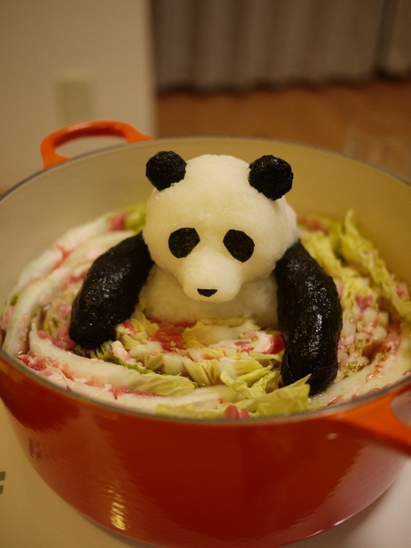 Grated radish art from Japan brings the cute to your favourite dishes5