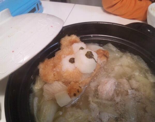 Grated radish art from Japan brings the cute to your favourite dishes6