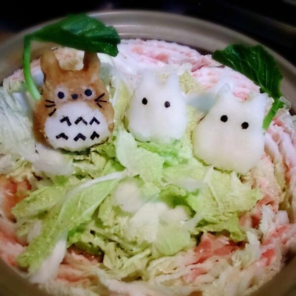 Grated radish art from Japan brings the cute to your favourite dishes7