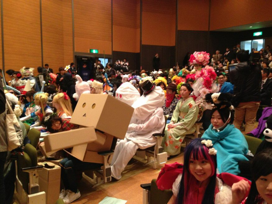 The Japanese universities where graduation is one giant cosplay party【Photos】