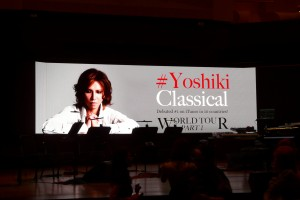 """The night offered something for everyone in Yoshiki's ability to merge and bring together different genres and listeners and touch the collective beating heart therein."" (Shirong Gao)"