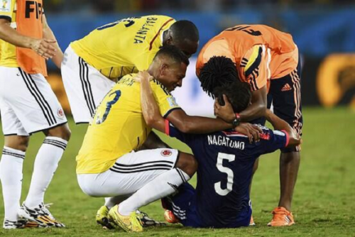 Colombia beats Japan, still picks up a few Japanese supporters for its inspiring sportsmanship