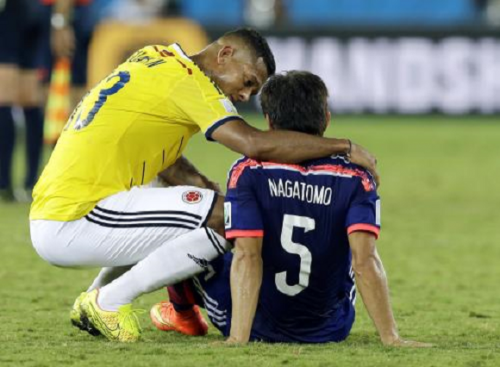 Colombia beats Japan, still picks up a few Japanese supporters for its inspiring sportsmanship2
