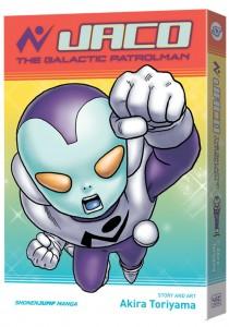 Jaco the Galactic Patrolman, the latest manga from Dragon Ball creator Akira Toriyama, arrives Jan. 6. (VIZ Media)